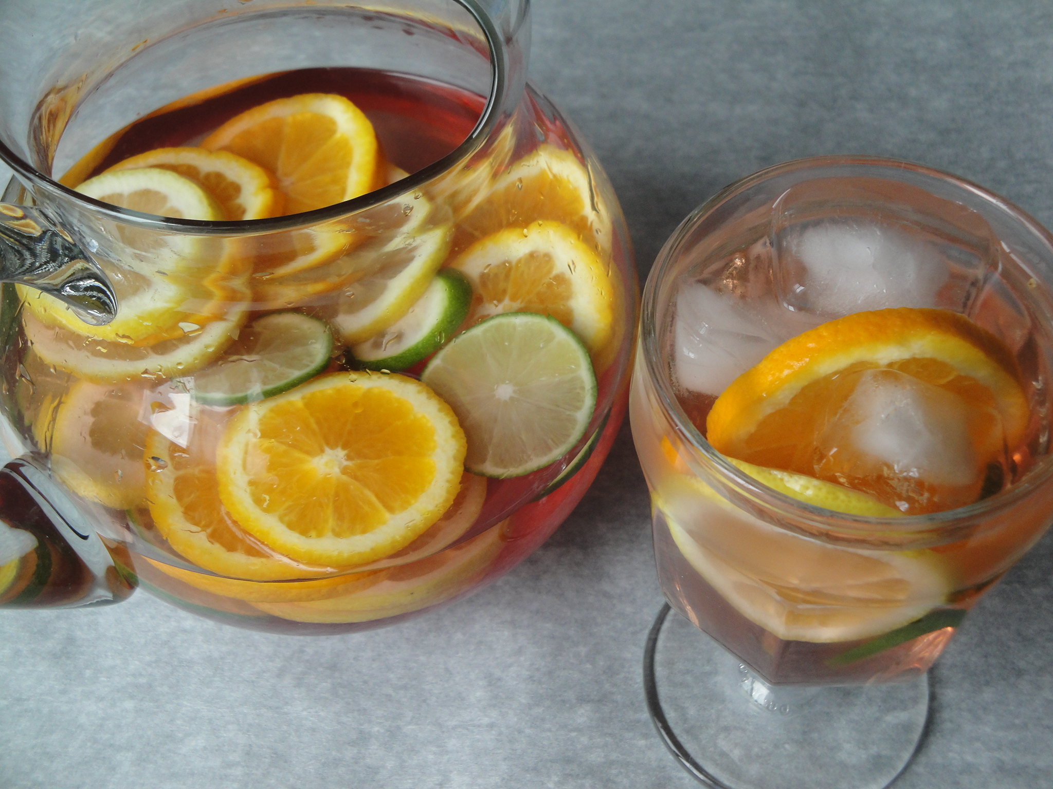 Citrus Sangria | A Fork In Each Hand