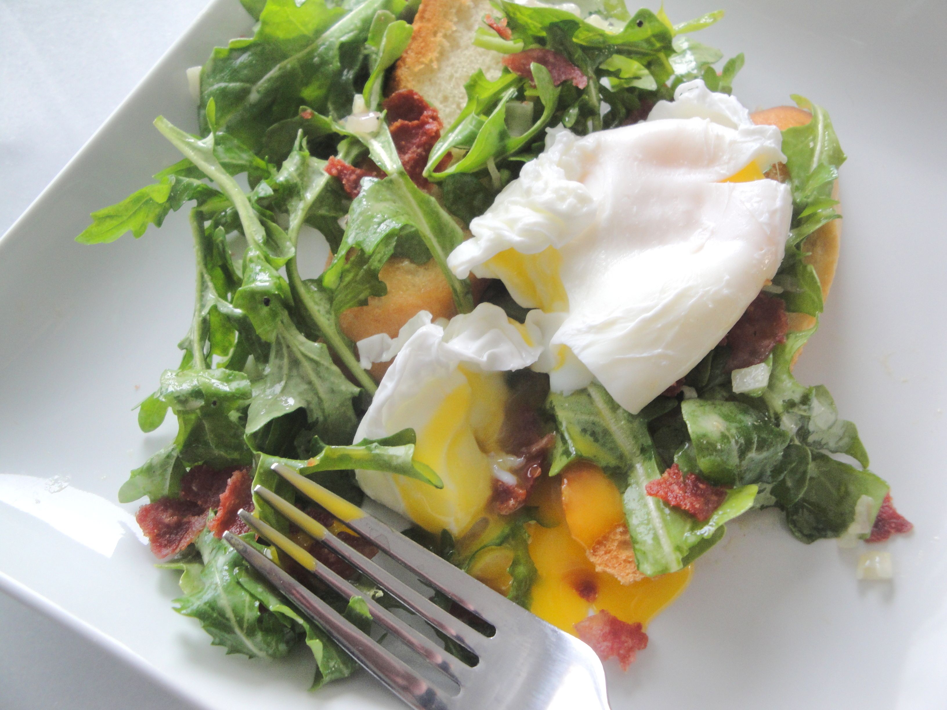 jpg a few poached eggs on top asparagus salad topped with poached ...